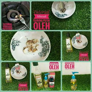 Cara penyediaan minyak bawang putih