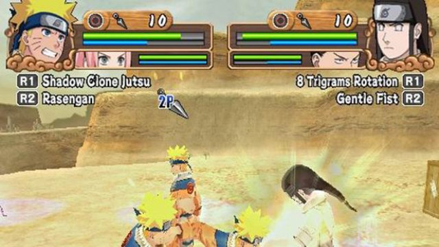 Download Naruto Uzumaki Chronicles 2 PC Gameplay