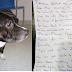 Σ' ΑΓΑΠΩ ΚΑΙ ΛΥΠΑΜΑΙ! Σκύλος βρέθηκε δεμένος σε εκκλησία μαζί με σημείωμα