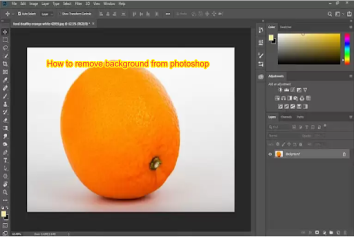 How to Remove Background from Photoshop