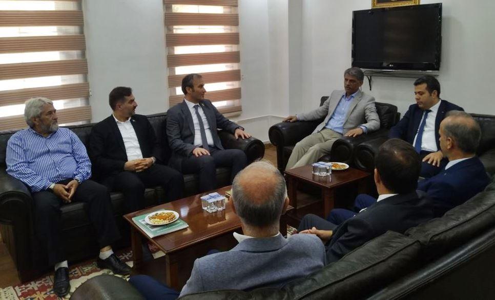 Bakan Yardımcısı Nadir Alpaslan Mudurnu'yu Ziyaret Etti