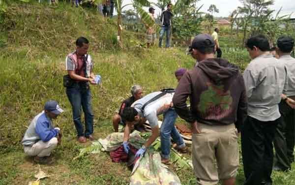warga ragawacana kuningan temukan mayat di sungai
