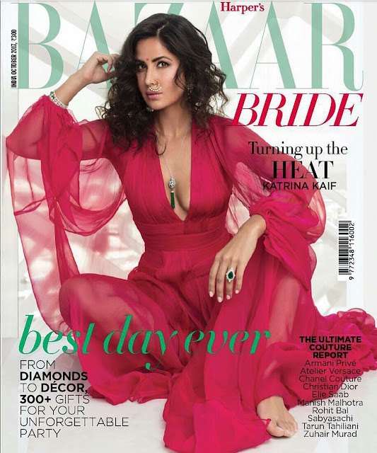 Katrina Kaif on October 2017 Harper's Bazaar Bride