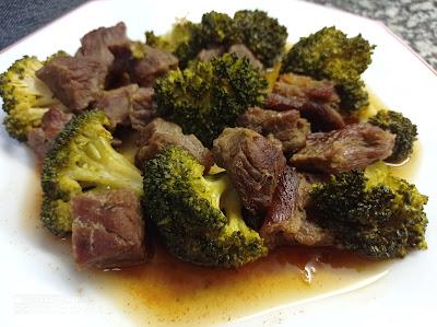 Ternera con brócoli