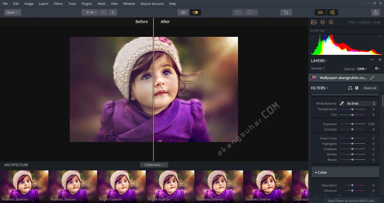 Gratis Download Aurora HDR 2019 Full Crack Terbaru