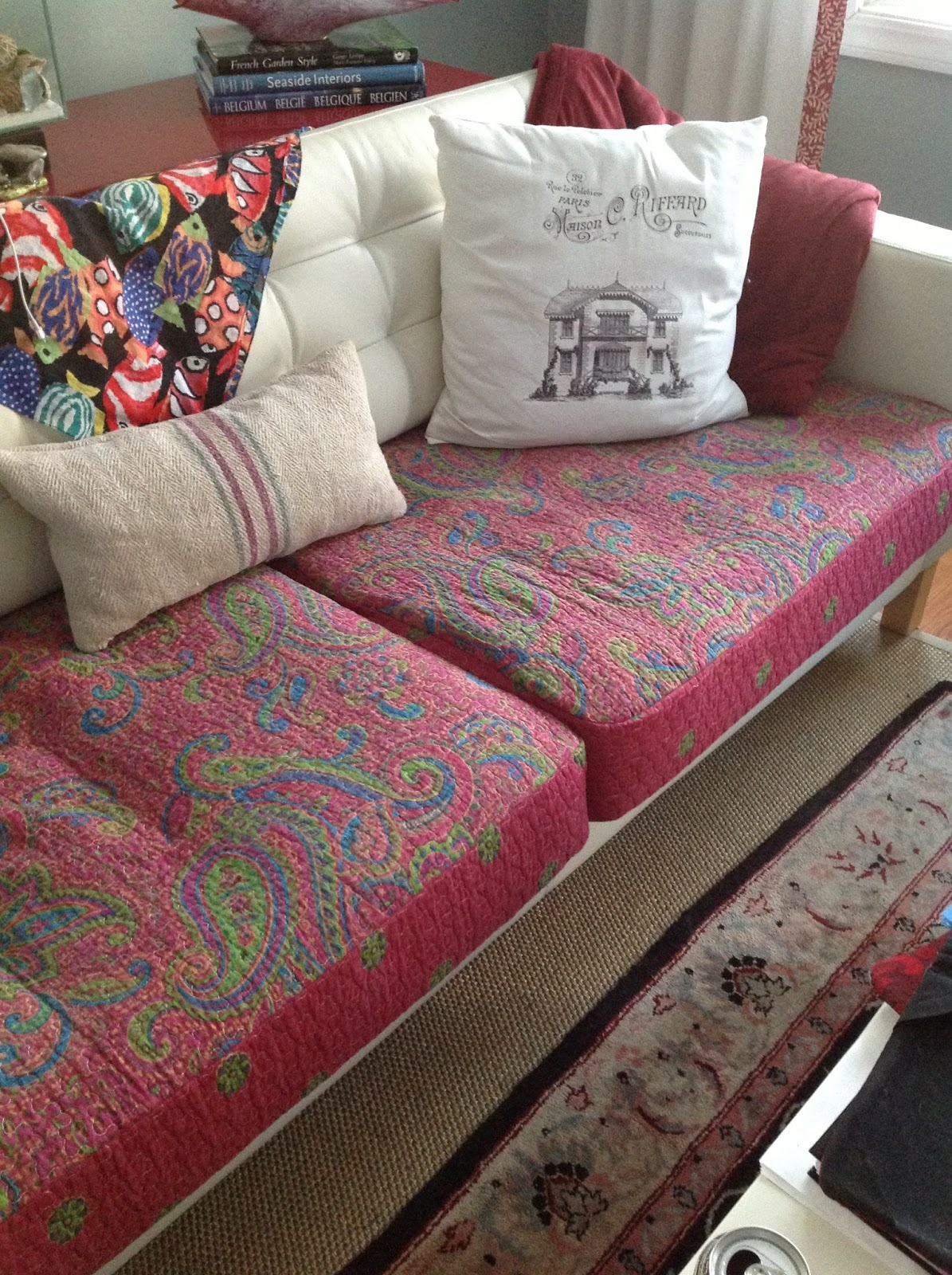 fuzzy sofa slipcover apartment sectional sofas the centric home bohemian style