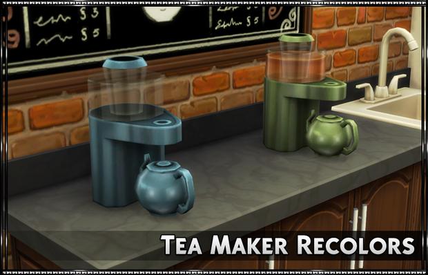 Tea Maker Recolors