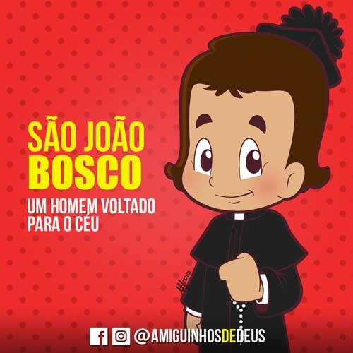 São João Bosco desenho