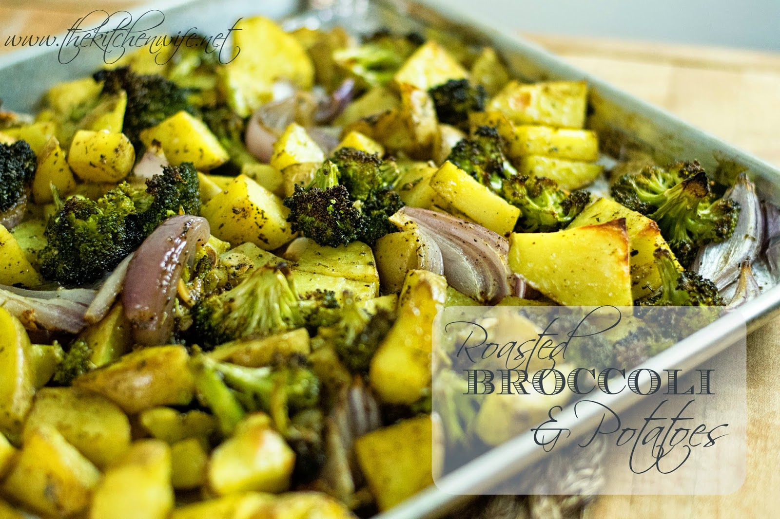 Roasted Broccoli and Potatoes