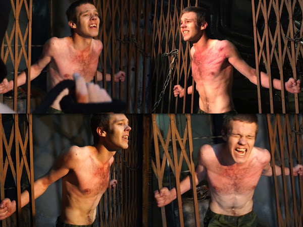 #RusStraightGuys - New torture – Chest whipping for Nikitych 19 y.o.