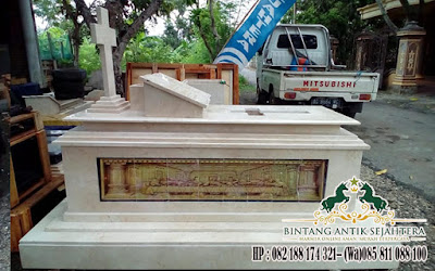 Makam Kristen Granit Dengan Perjamuan, Pusaran Makam Granit