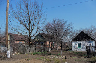 Сухий Яр. Покровський р-н. Вулиця Калинова