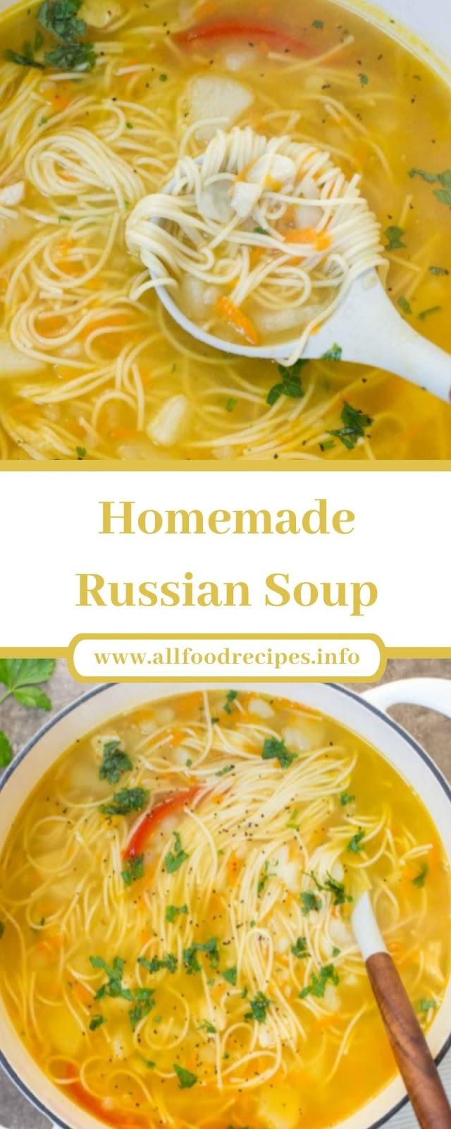 Homemade Russian Soup