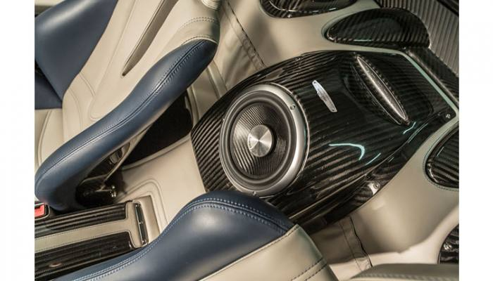 The Pagani Huayra Debuts Its New Automotive Audio System by
