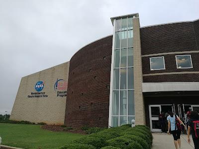 Bahagian khas untuk pendidikan bagi US Space and Rocket Center