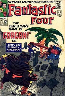Fantastic Four #44, Gorgon, Medusa, Dragon Man