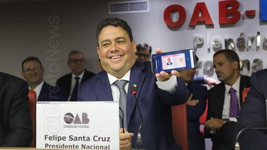 oab cartao identidade digital advogado direito