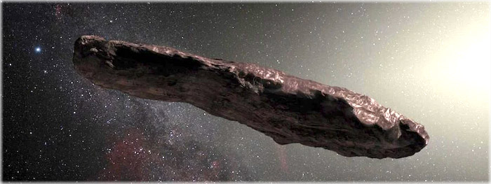 oumuamua ganha velocidade