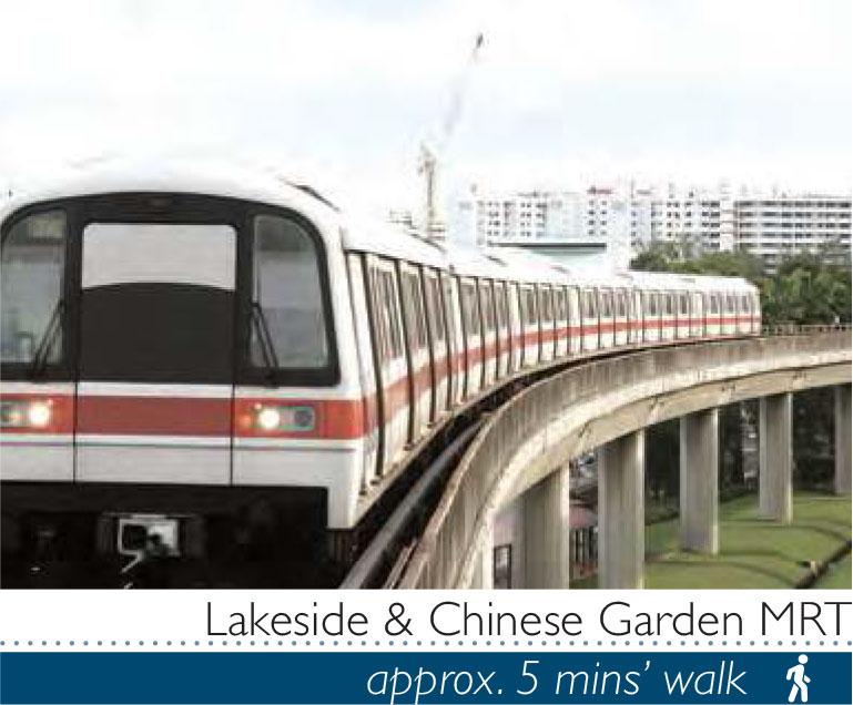 MRTs near Lake Garden