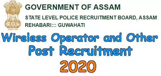 Assam Police Various Post Recruitment 2020