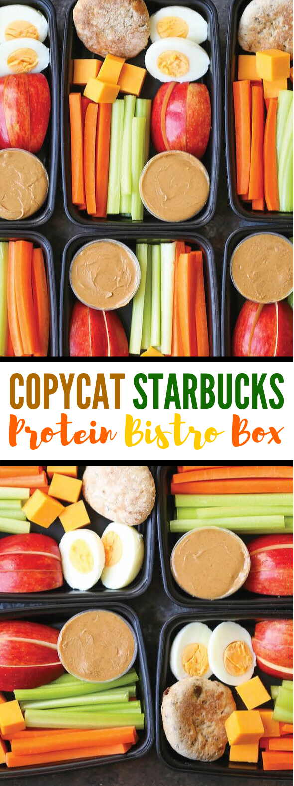 COPYCAT STARBUCKS PROTEIN BISTRO BOX #healthylunch #dietrecipes