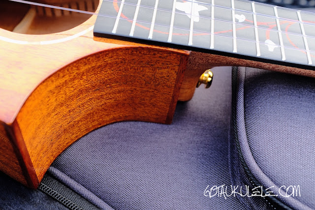 Enya EUT-M6 Tenor Ukulele cutaway