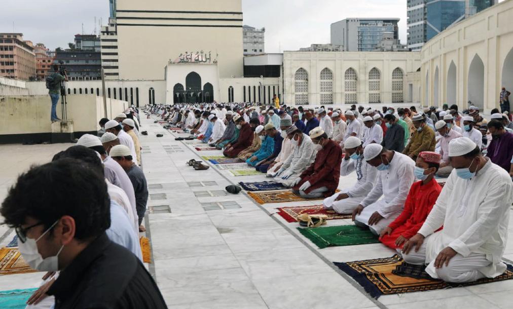 মসজিদ-মন্দির-গীর্জা-প্যাগোডায় মাস্ক পরা বাধ্যতামূলক