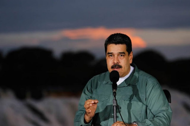 """¡LO QUE FALTABA! Maduro entregó un bloque de la Faja Petrolífera como sustento del """"Petro"""" (+Video)"""