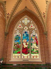 American Heartland Neo-Gothic Cemetery Chapel in New Vienna, Iowa
