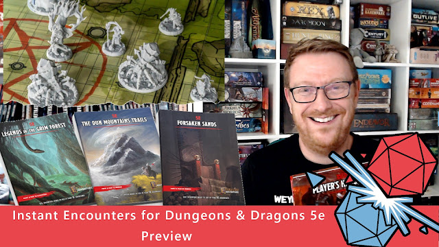 Instant Encounters for Dungeons & Dragons 5e Preview