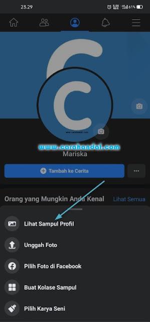 Cara Menghapus Foto Sampul di Facebook Lewat Hp terbaru
