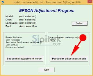 Epson Ajdustment Program