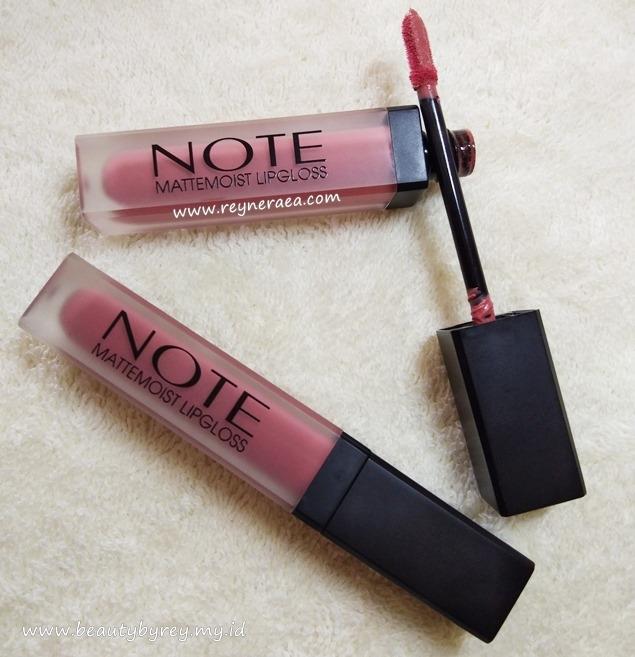 Note Cosmetics mattemoist lip liquid