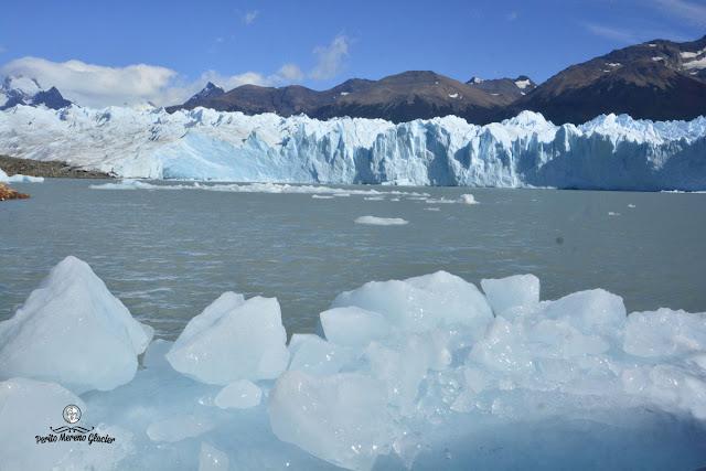 boat ride at glacier perito moreno
