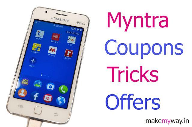 Myntra Coupon Codes & Free Shipping Tricks January 2020