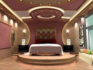 ديكور جبس غرف النوم