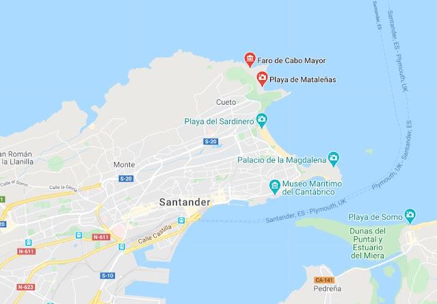 Faro Cabo Mayor de Santander