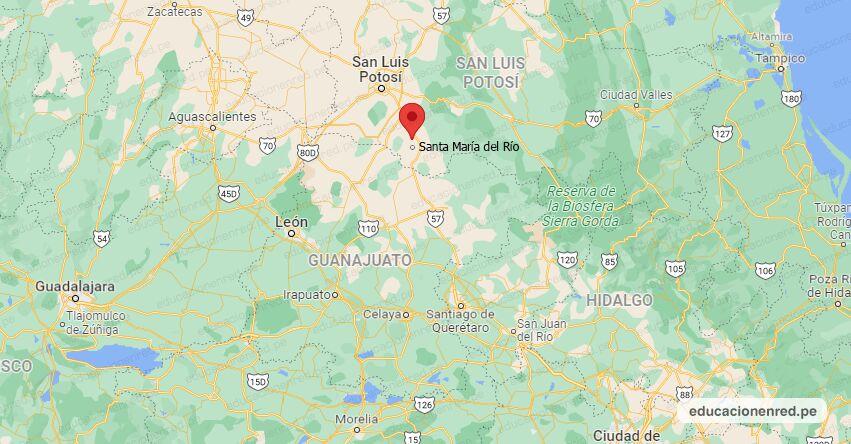 Temblor en México de Magnitud 4.5 (Hoy Domingo 05 Septiembre 2021) Sismo - Epicentro - Santa María del Río - San Luis Potosí - S.L.P. - SSN - www.ssn.unam.mx