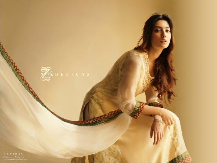 e479aa2919 Z Designs Semi Formal Wear 2011. semi formal pakistani dresses