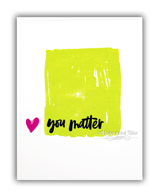 You Matter Card by Understand Blue