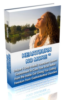 Heartburn No More Review – Jeff Martin's 5 Step Holistic System