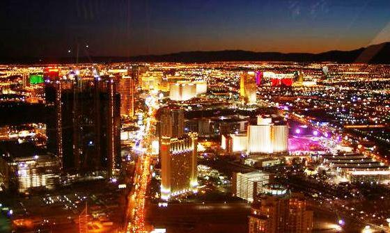 Stratosphere Las Vegas Torre Vista