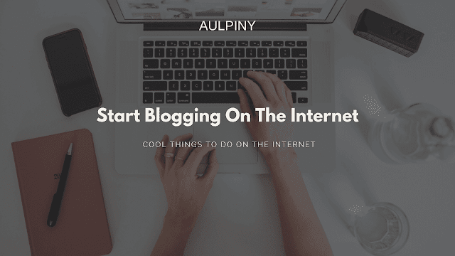 Start Blogging On The Internet