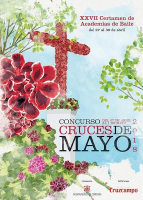 Cartel Concurso Cruces de Mayo 2018 - CÓRDOBA