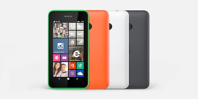 Lumia 530 will be available starting October 3, through Cricket Wireless