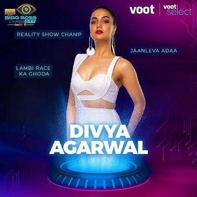 Divya Agarwal Bigg Boss OTT