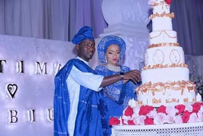 Nawao!!? President Buhari's PA Who Just Wedded Is Actually His Grandson? 2