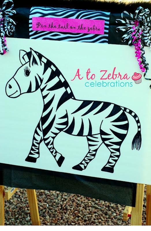 A To Zebra Celebrations Zebra Party