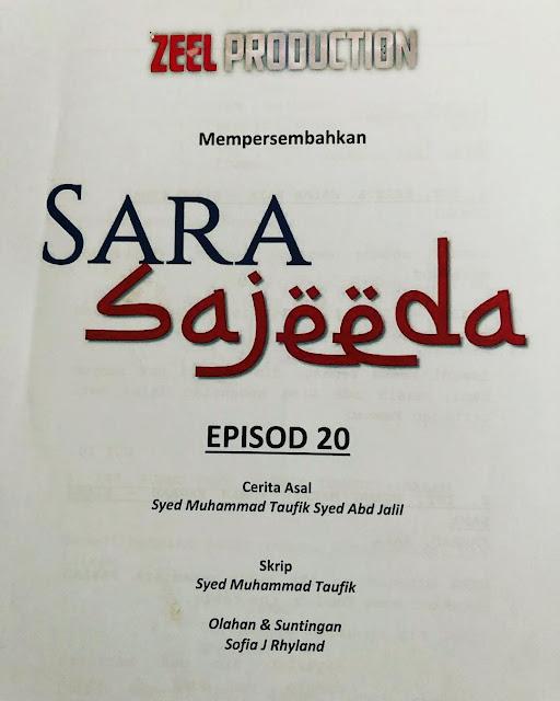 Drama Sara Sajeeda tv3