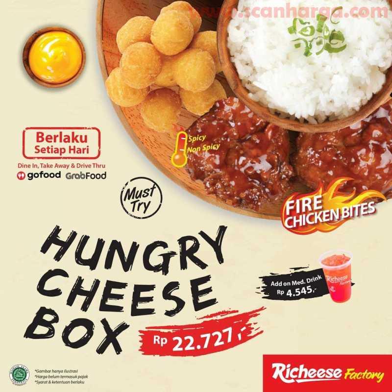 Paket Hungry Cheese Box